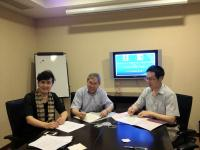 (From left) Prof. Chen Zijiang, Prof. Chan Wai-yee and Prof. Ma Jin-loong