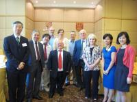 Group photo of CUHK representatives and Scottish delegation