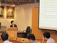 Prof. Helen Meng of Big Data Decision Analytics Research Center