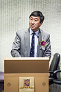 Prof. Joseph Sung, Vice-Chancellor of CUHKgives keynote speeches at the Symposium