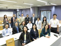 The delegation visits to the Institute of Digestive Disease