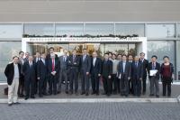 Group photo taken during the visit