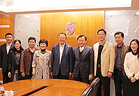 CUHK representatives welcome the delegation from South University of Science and Technology of China
