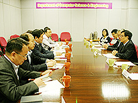 The delegation from Northwestern Polytechnic University visits the Department of Computer Science and Engineering in CUHK