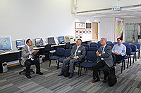 Academia Sinica Academicians Visit Programme: Prof. Norden Huang and Prof. Liu Chao-Han visit the Institute of Space and Earth Information Science