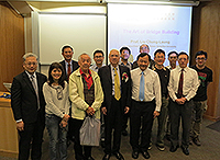Academia Sinica Academicians Visit Programme: Prof. Liu Chung-Laung and representatives of the Faculty of Engineering of CUHK