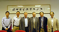 Academia Sinica Academicians Visit Programme: Prof. Norden Huang and Prof. Liu Chao-Han visit the department of Geography and Resource Management