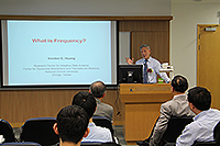 Academia Sinica Academicians Visit Programme: Prof. Norden E. Huang, K.T. Lee Chair Professor of Taiwan Central University and Director of Center for Adaptive Data Analysis, Taiwan Central University