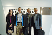 Academia Sinica Academicians Visit Programme: Prof. Norden Huang and Prof. Liu Chao-Han visit the Institute of Environment, Energy and Sustainability