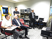 Academia Sinica Academicians Visit Programme: Prof. Liu Chung-Laung visits the department of Computer Science and Engineering