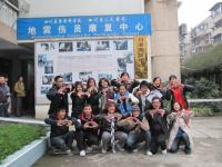 S.H. Ho College students participated in the Stand TALL service scheme in February, 2011.
