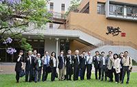 中大及南京大學代表出席中央大學舉行的「綠色校園研討會」