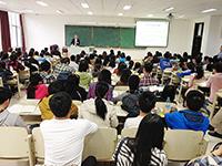 2014研究生課程說明會: 在吉林大學舉行的研究生說明會