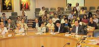 中國聯繫講座2014:出席人數眾多