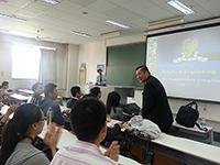 2014研究生課程說明會:中大工程學院代表向天津大學和南開大學介紹工程學院的發展