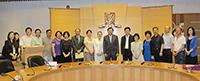 中國聯繫講座2014:中大代表歡迎深圳市科技創新委員會代表團