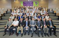 """Guests and our School members at the """"SBS Research Day 2014 cum Cancer and Inflammation Symposium 2014"""""""