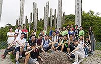 內地及台灣學生暑期研究體驗計劃-暢遊心經簡林(洪凱恩同學攝)