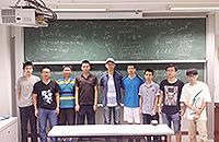 內地及台灣學生暑期研究體驗計劃-與數學系梁迺聰教授討教(謝君明同學攝)