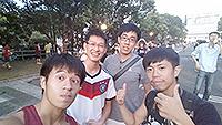 內地及台灣學生暑期研究體驗計劃-為了看世界盃冠軍賽,來香港第一次看日出(台灣交通大學許勁崴同學攝)