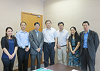 The delegation of Southeast University meets with CUHK representatives