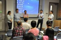 Thesis supervisors share their research topics with the freshmen