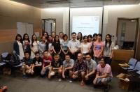 Group photo of SBS PSA and freshmen taken during the orientation session