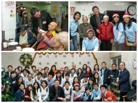 SHHO students started to visit the residents at SAGE Madam Ho Sin Hang Home for the Aged since the Christmas event in 2013.