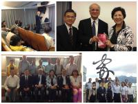 Hong Kong Aided Primary School Heads Association (Retired Principals Section) visited S.H. Ho College