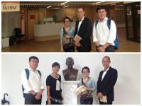 Prof. Julian Chang, Associate Dean of Schwarzman College, Tsinghua University called on the College