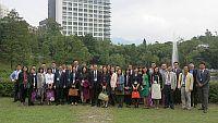 第七屆內地高校對外交流人員赴港研習班代表團參觀校園