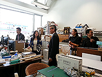The delegation from Kunming University of Science and Technology visits the School of Architecture