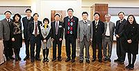 院士們與中大代表會晤