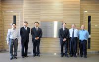 (From left) Prof. Wan Chao, Mr. Gao Yi-bing, Prof. Zhao Gui-jun, Prof.  Sun De-jun, Prof. Chan Wai-Yee and Prof. Kenneth K.H. Lee