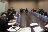Snapshot taken during the Business Meeting