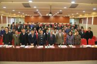 Group photo taken during the Workshop and Symposium, including Prof. Chan Wai-yee (front row, 4th from right), Prof. Wan Chao (front row, 5th from left), Prof. Zhao Hui (front row, 3rd from left), and Prof. Albert Cheung (front row, 4th from left).