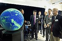 Prof. Zhou Chenghu (2nd from left)