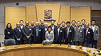 The official meeting was held at Cho Yiu Hall