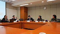 倪鵬飛教授及楊宜音教授訪問香港亞太研究所