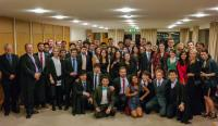 Group photo taken after the College Matriculation Dinner