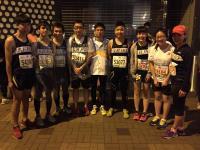 half marathon team of the College