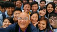 a selfie photo taken by Master Samuel Sun