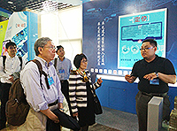 The delegation visits the Shenzhen Institutes of Advanced Technology, CAS