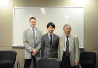 (From left) Prof. John A. Rudd, Prof. Ichiro Sakata and Prof. Chan Wai-yee