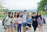 到訪環境清幽的宏村古鎮(陳偉倫同學攝於徽文化研習營)