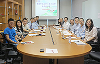Zhejiang University delegates in the Collaboration Symposium with CUHK representatives