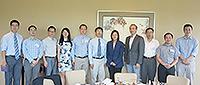 浙江大学代表团与中大代表举行合作研讨会