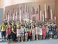 Students visit the Legislative Council of the HKSAR