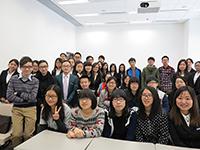 Student delegation visits the CUHK