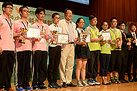 Prof. KF Wong also joined the closing ceremony on behalf of the University and presented the prizes to the awardees